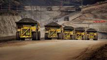 An oil sands site in Alberta. (CATERPILLAR)