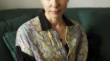 American author Lionel Shriver in her home in southeast London in 2010. (David Azia/The Associated Press)