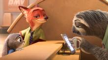 Unlikely partners Judy Hopps (Ginnifer Goodwin), Zootopia's first bunny cop, and Nick Wilde (Jason Bateman), a con-artist fox, find themselves working together to solve a mystery. (Disney)