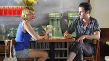 Michelle Williams and Luke Kirby in a scene from Take This Waltz. (Michael Gibson)