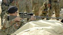 Pakistan's chief of army staff, General Ashfaq Parvez Kayani, continues to resist U.S. pressure to launch military operations where the Islamic Emirate is based. (Ho New/Reuters/Ho New/Reuters)