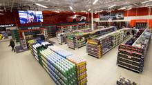 The automotive department at a Canadian Tire store in Bowmanville, Ont. (Michelle Siu For The Globe and Mail)