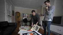 Brothers Andrew and Matt McCracken at Doublenaut. (Fred Lum/The Globe and MailNewspaper)