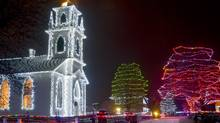 At the Alight at Night event in Morrisburg, Ont., visitors can enjoy sleigh rides, holiday feasts, shopping for artisanal gifts and all the trappings of what they imagine the perfect Christmas would have been like before shopping malls and urban sprawl came along to ruin everything.