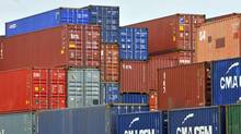 Shipping containers stacked in the Port of Haliax, June, 2011. (Roger Hallett/The Globe and Mail)