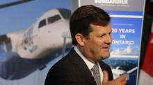 File photo of Pierre Beaudoin, CEO of Bombardier Inc. (Fred Lum/The Globe and Mail)