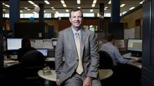 'We are very thoughtful and mindful that there has been a long litany of broken track records as it relates to expansion in the U.S. But I would say our foray thus far has been very successful,' says Gerrard Schmid, CEO of D+H, seen here at corporate head office in Toronto. (Matthew Sherwood For The Globe and Mail)