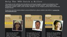 An image taken from the Vancouver Police Department website dedicated to soliciting tips from the public on unsolved cases. (vpdcoldcases.com)
