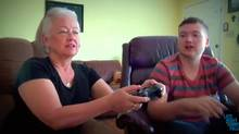 Jimmy Fallon's Late Night video: Gaming with Mom (YouTube)