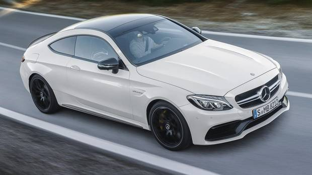 mercedes amg c63 coupe outguns bmw 39 s m4 the globe and mail. Black Bedroom Furniture Sets. Home Design Ideas