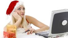 Working during the holidays. (proxyminder/Getty Images/iStockphoto)