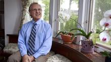 Humanitarian, diplomat and activist Stephen Lewis poses in his house in Toronto, June 24, 2013. (Gloria Nieto/The Globe and Mail)