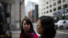 Yi Chun Dai seen here with her daughter Joyce Yan, 22, in Feb. 2, 2012. Data from the 2011 census, which began rolling out this month, tell the story of a country undergoing dramatic changes, in part because of the current wave of newcomers. (Rafal Gerszak For The Globe and Mail)