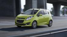 2013 Chevrolet Spark. (General Motors)