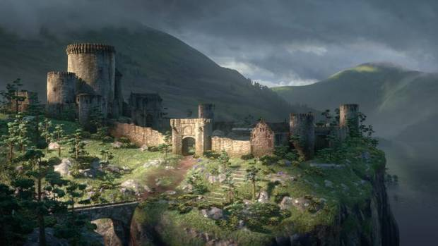 THE CASTLE: In Brave, in theatres now, Merida meets her potential, and decidedly unappealing, suitors in the massive Great Hall in Castle DunBroch – setting the plot in motion. The next photo shows the castle that most inspired DunBroch. (Disney/Pixar)