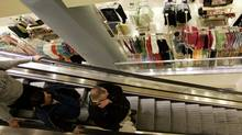Customers shop inside the Sears store in downtown Chicago in a file photo. (NAM Y HUH/AP)