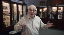 Murray Rubin, who graduated from Harbord Collegiate in the 1950s, can still give a rousing rendition of the school song. 'Harbord made me realize that if you work hard you can succeed,' he says. (Fred Lum/The Globe and Mail)