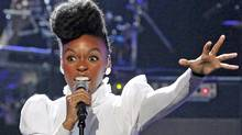 Janelle Monae's summer tour plans include a stop at Montreal's Osheaga Festival in July. (Mario Anzuoni / Reuters)