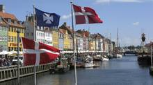The Nyhavn canal in Copenhagen Harbour. (STAFF/Reuters)
