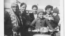Aparita Bhandari, front, with her family as a child in New Delhi, was intent in recreating her Nani's mango pickle recipe after striking out with store-bought options in Canada. (Aparita Bhandari)