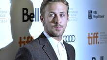 "Actor Ryan Gosling poses at the gala presentation for the film ""The Place Beyond The Pines"" at the 37th Toronto International Film Festival September 7, 2012. (MIKE CASSESE/REUTERS)"
