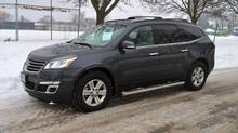 2014 Chevrolet Traverse 2LT AWD (Micheal Bettencourt for The Globe and Mail)