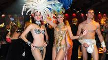Dancing Girls at the Brazilian Carnival Ball 2011.  (Tom Sandler for The Globe and Mail)