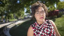 Without enough points to qualify for permanent residence and her work permit on the cusp of expiring, Viviana Moran got on a plane in September and headed back to Ecuador. (GEOFF ROBINS For The Globe and Mail)