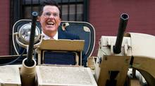 """Stephen Colbert: His rally will be called """"March to Keep Fear Alive"""" (Charles Sykes/AP)"""