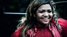 Gaby Amarantos is a national superstar and the voice behind an anthem for the FIFA World Cup (Handout)