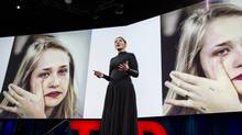 Marina Abramovic speaks at TED2015 - Truth and Dare, Session 1, March 16-20, 2015 at the Vancouver Convention Centre. (Bret Hartman/TED)
