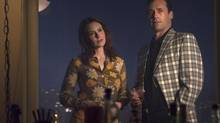 Mad Men, starring Jenny Wade and Jon Hamm, now seems to take a dystopian.