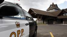 An Ontario Provincial Police car is seen in this file photo. (MIKE CASSESE/REUTERS)