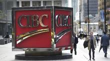 Canadian Imperial Bank of Commerce has teamed up with a small online lender, Borrowell Inc. (Fred Lum/The Globe and Mail)