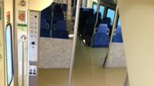 Flooding is at seat level on some GO trains in the GTA.