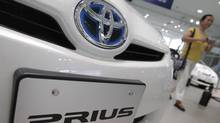 Toyota Prius: A speaker system under the hood will make Toyota's hybrid as loud as a regular car engine (Itsuo Inouye/AP Photo)