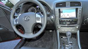 Inside the 2011 Lexus IS 350 AWD