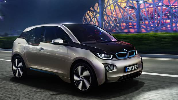 2014 BMW i3: The starting price will be $44,950 in Canada (BMW)