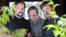 Robb Wells, John Paul Tremblay and Mike Smith star in TRAILER PARK BOYS COUNTDOWN TO LIQUOR DAY. (Michael Tompkins/WWW.MIKETOMPKINS.NET)