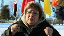 Attawapiskat Chief Theresa Spence is on a hunger strike, asking for a meeting with Prime Minister Stephen Harper. (FRED CHARTRAND)