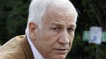 Former Penn State assistant football coach Jerry Sandusky is seen in this 2012 photo (Gene J. Puskar/AP)
