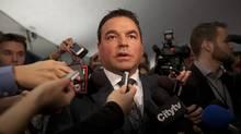 Councillor Georgio Mammoliti during a Toronto City Council Meeting in Toronto Nov. 27, 2012. (Deborah Baic/The Globe and Mail)
