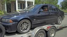 Registered dealer Will Zaraska drove all the way up from South Carolina to deliver the writer his 1991 BMW M5 – and his teenaged dreams. (Will Zaraska)