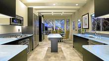 Quebec's ThinkGlass (www.thinkglass.com) specializes in recycled-glass countertops illuminated with LED lights.