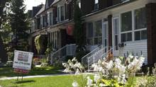 The Toronto land transfer tax is a significant portion of homeowners' moving expenses, coming to about $11,400 for the average detached Toronto house, on top of the $12,100 provincial LTT. (Galit Rodan/The Globe and Mail)