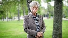 Bosnian war victim Bakira Hasecic photographed at the Nobel Women's Initiative conference in Montebello, Que. (Dave Chan for The Globe and Mail)