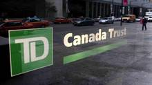 A TD Canada Trust branch in Toronto. The bank is lowering the interest rate it will charge for a three-year term mortgage, matching a move earlier this week by Royal Bank. (Mark Blinch/Reuters)