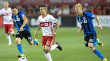 Toronto FC forward Sebastian Giovinco (10) moves the ball against the Montreal Impact in the second half at BMO Field, August 27, 2016. (Kevin Sousa/USA Today Sports)
