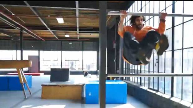 Video What Its Like To Workout In A Parkour Gym