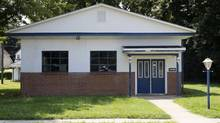 The site of the former Minus Funeral Home in Dover, Del., is shown on Aug. 7, 2014. Remains of several victims of the Jonestown massacre were discovered at the former funeral home. (EVAN VUCCI/ASSOCIATED PRESS)